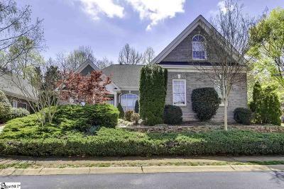 Greenville Single Family Home For Sale: 109 Hampton Grove