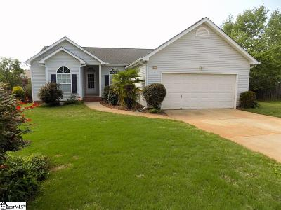 Simpsonville Single Family Home Contingency Contract: 7 Leighton