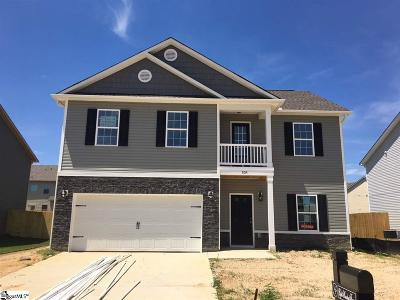 Simpsonville Single Family Home For Sale: 804 Camberwell #lot 356