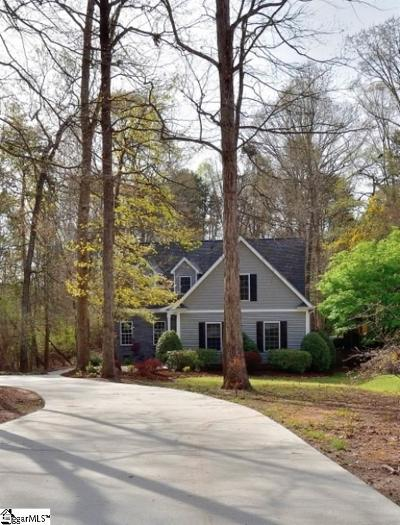 Anderson Single Family Home For Sale: 116 Quiet