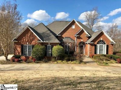 Spartanburg Single Family Home For Sale: 584 Old Iron Works