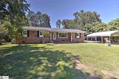 Easley Single Family Home For Sale: 7711 Highway 81 N