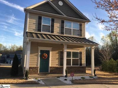 Simpsonville Single Family Home For Sale: 8 Hatcher