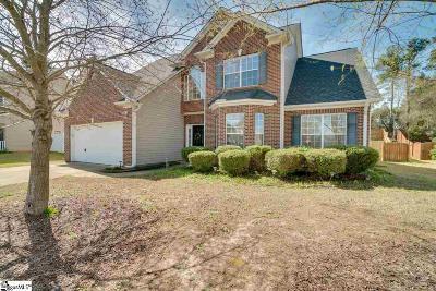 Simpsonville Single Family Home For Sale: 313 Oakboro