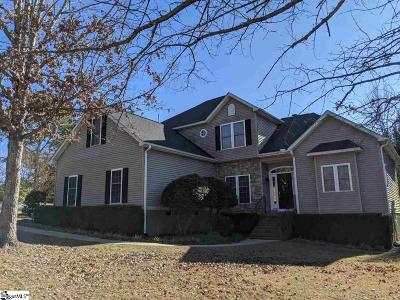 Easley Single Family Home For Sale: 101 James Creek