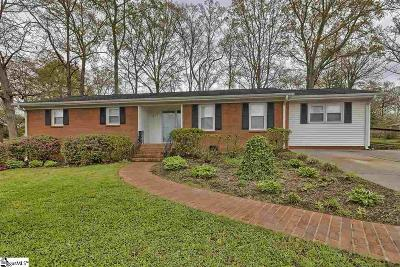 Easley Single Family Home For Sale: 217 Sylvia