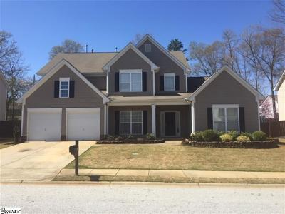 Simpsonville Single Family Home For Sale: 507 Adeline