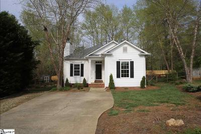 Greenville County Single Family Home For Sale: 8 Mountain Trace