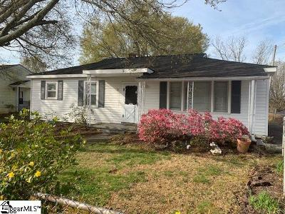 Greenville Single Family Home For Sale: 406 Rainbow