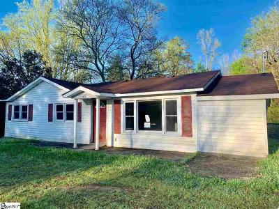 Greenville County Single Family Home For Sale: 631 Old Hunts Bridge