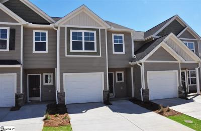 Simpsonville Condo/Townhouse For Sale: 817 Stonebriar #210D