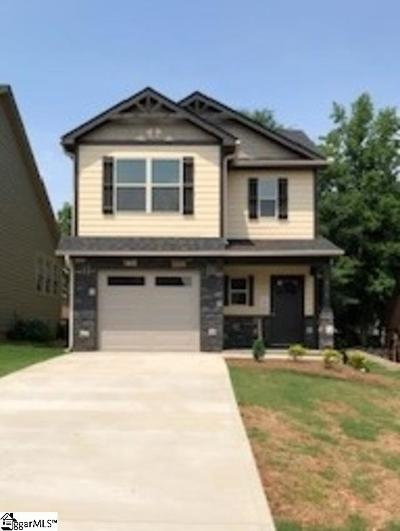 Inman Single Family Home For Sale: 615 Hideaway