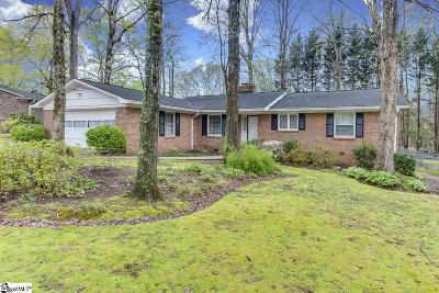 Mauldin Single Family Home Contingency Contract: 114 Brookbend
