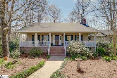 Greer Single Family Home For Sale: 543 Mahaffey