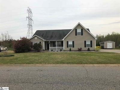 Spartanburg Single Family Home For Sale: 516 Harvest Valley