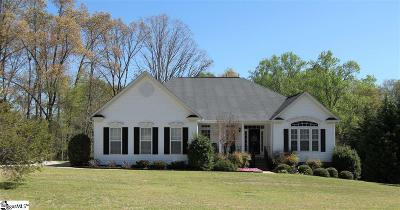 Simpsonville Single Family Home Contingency Contract: 105 Hydrangea