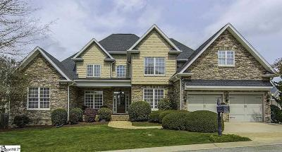 Simpsonville Single Family Home For Sale: 100 Sand Castle