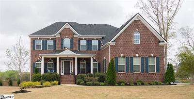 Simpsonville Single Family Home For Sale: 8 Drayton Hall