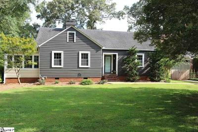 Greenville County Single Family Home For Sale: 38 Clarendon