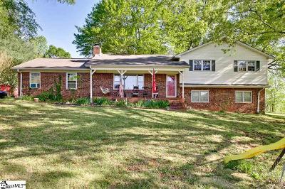 Inman Single Family Home For Sale: 441 Old Burnett