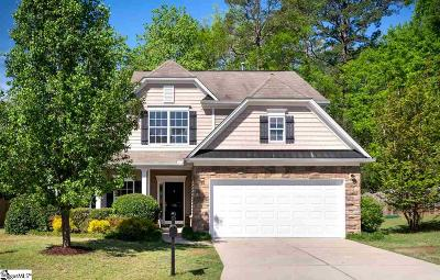Simpsonville Single Family Home For Sale: 106 Horsepen