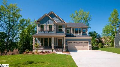 Simpsonville Single Family Home For Sale: 514 Briar Oaks