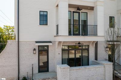 Greenville Condo/Townhouse For Sale: 50 Claussen