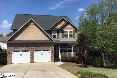 Greer Single Family Home Contingency Contract: 407 Chestnut Woods