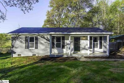 Greer Single Family Home Contingency Contract: 113 Woodhaven