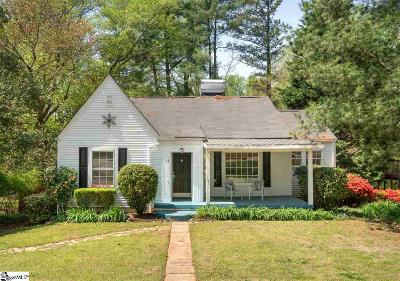 Greenville Single Family Home For Sale: 22 Brookview