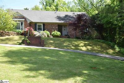 Greenville Single Family Home For Sale: 110 Lockwood