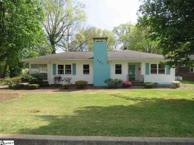 Greenville Rental For Rent: 401 Dellwood