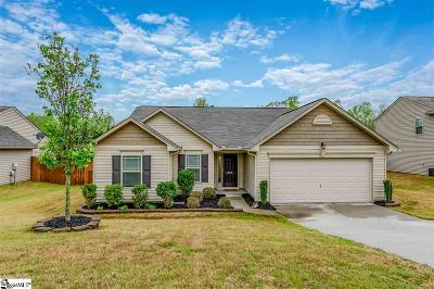 Simpsonville Single Family Home Contingency Contract: 205 Gibby