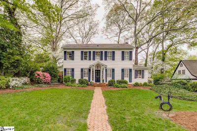 Greenville Single Family Home Contingency Contract: 204 Elsie