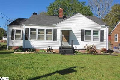 Greenville Single Family Home For Sale: 16 McLean