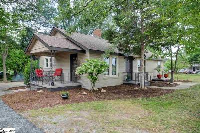 Greenville Single Family Home For Sale: 1813 Old Easley Bridge