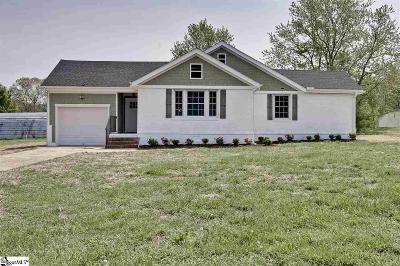 Greer Single Family Home For Sale: 903 Brockman McClimon