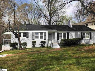 Greenville Single Family Home Contingency Contract: 17 Ashford