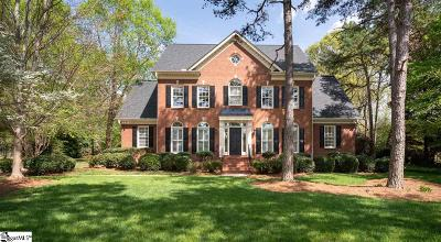 Simpsonville Single Family Home Contingency Contract: 24 Vaughns Mill