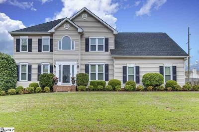 Greenville Single Family Home For Sale: 105 Woodington