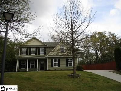 Easley Single Family Home For Sale: 115 Gadwall