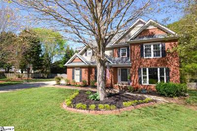 Simpsonville Single Family Home Contingency Contract: 5 Wandflower