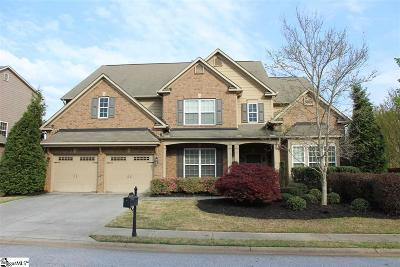 Simpsonville Single Family Home For Sale: 6 Blacksburg