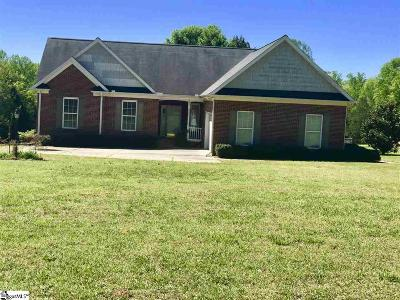 Simpsonville Single Family Home Contingency Contract: 334 Harts