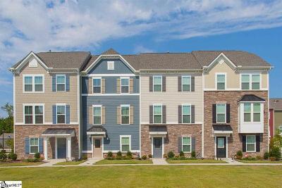 Greenville County Condo/Townhouse For Sale: 1009-E Itasca