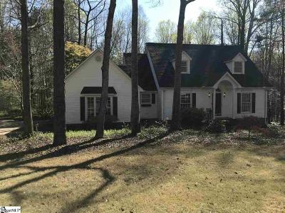 Easley Single Family Home For Sale: 111 Shadow Oaks