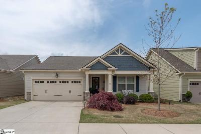 Simpsonville Single Family Home For Sale: 346 Belle Oaks