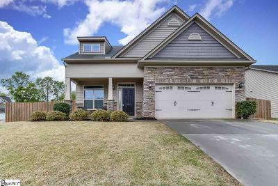 Simpsonville Single Family Home For Sale: 201 Sedgebrook