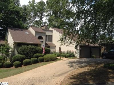 Greenville Single Family Home For Sale: 232 Hidden Hills