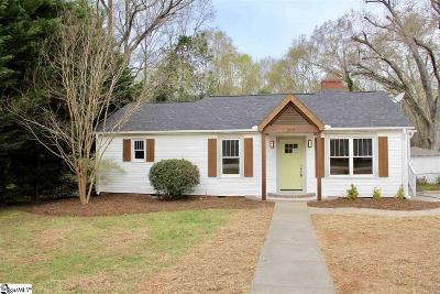 Easley Single Family Home Contingency Contract: 204 Parkway